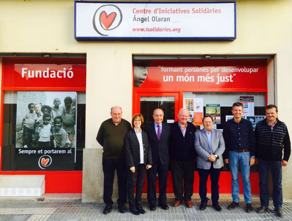 Patronato del Centre d'Iniciatives Solidàries Ángel Olaran