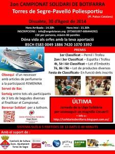 Torres de Segre2014