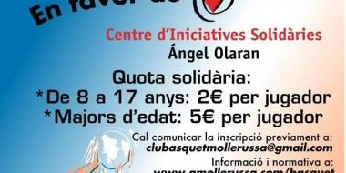 Torneig 3x3 solidari Mollerussa