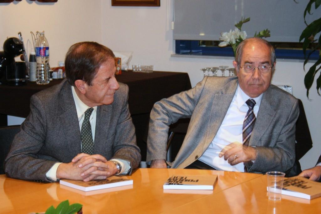 Àngel Pujol i Josep Mª Pujol a Tarragona