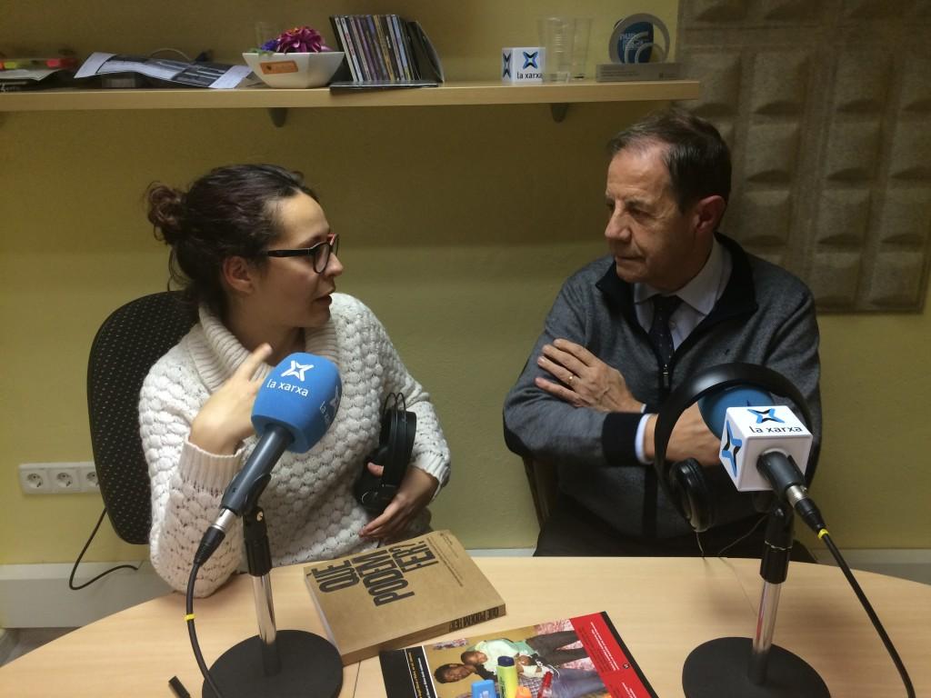 Entrevista Àngel Pujol amb Laura Alcalde a les EMUN