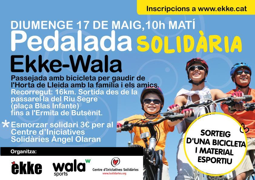 Pedalada Solidària Ekke-Wala