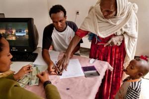 Día de entrega de ayuda economica en el WSDP