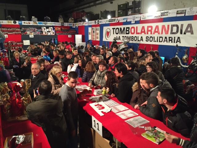 Tómbola solidaria en la Fira Sant Josep Mollerussa 2016
