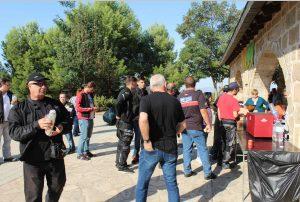 Novena trobada motera Tiurana amb esmorzar solidari