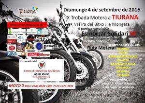 Trobada Motera Tiurana 2016-cartell