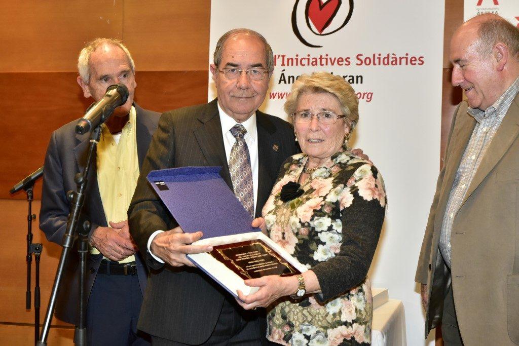 Reconeixements per la seva solidaritat amb el CIS Angel Olaran