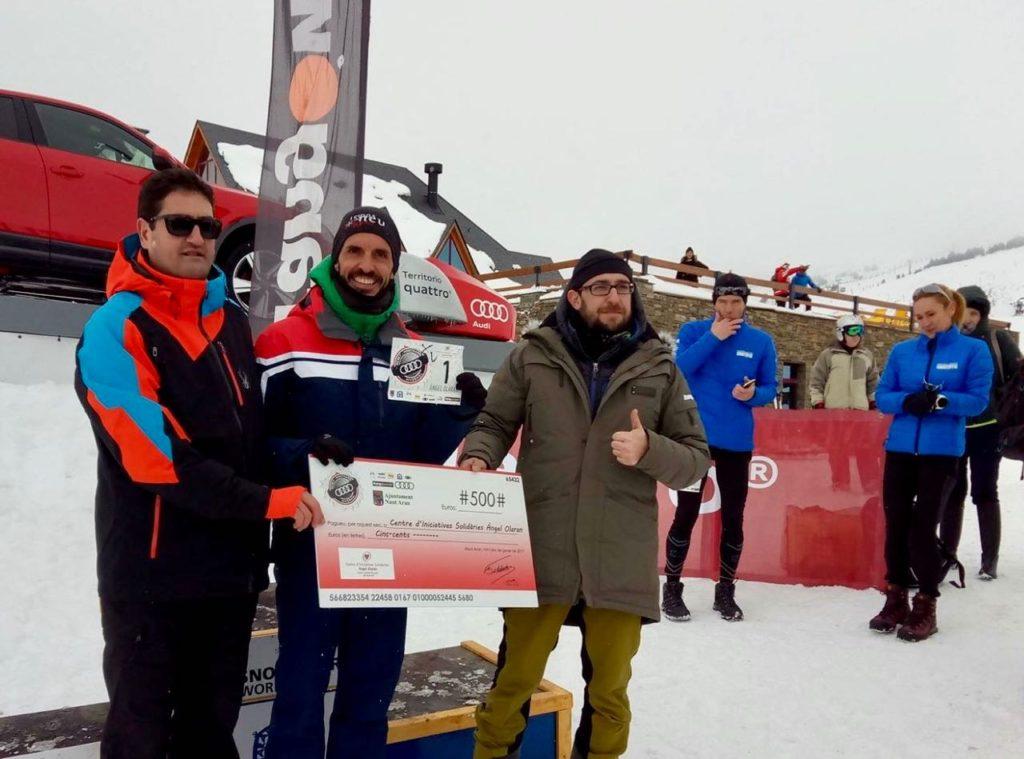 Cursa snowrunning participativa amb la causa de Wukro