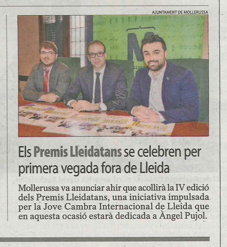 Premis Lleidatans Segre web