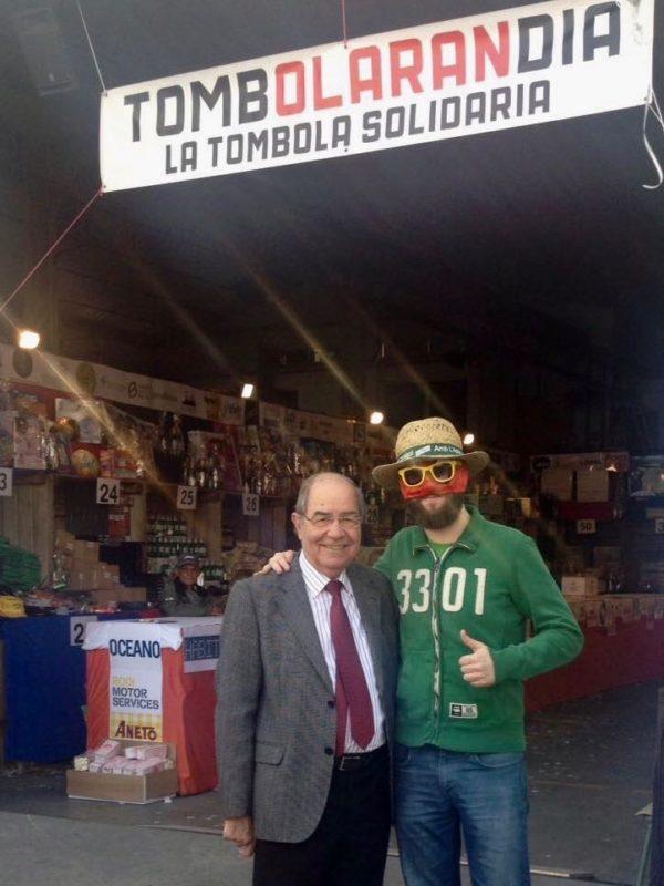 Tómbola solidària a la Fira Sant Josep Mollerussa 2017