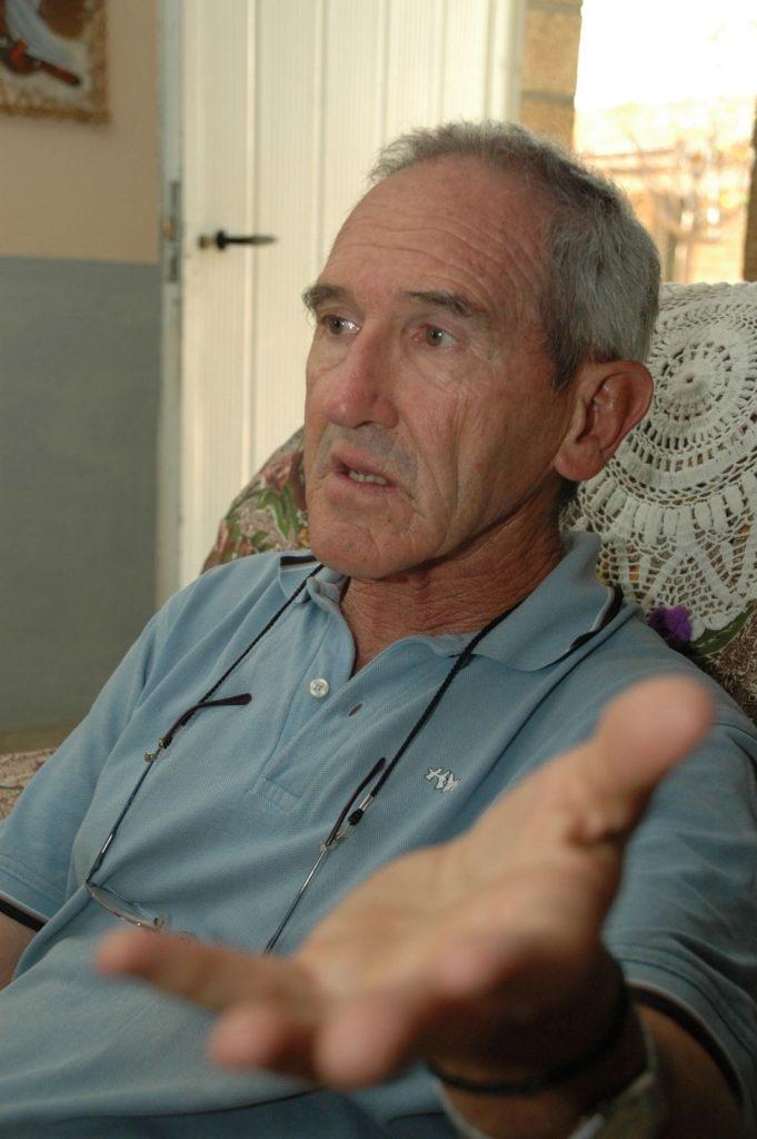 Ángel Olaran en la publicación de Información de visitas y voluntarios en Wukro