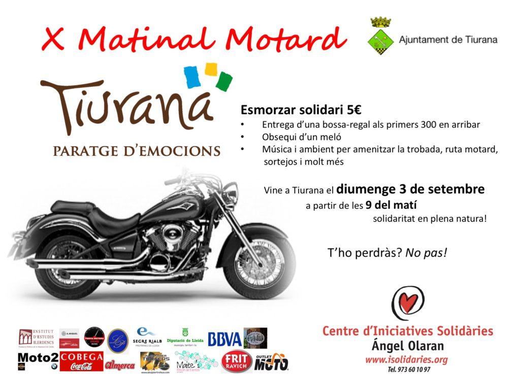 X Matinal Motard Tiurana amb esmorzar solidari