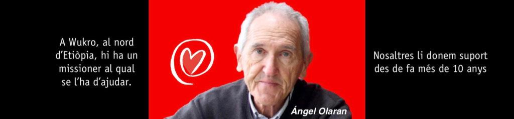 Més de 10 anys de suport al missioner Angel Olaran