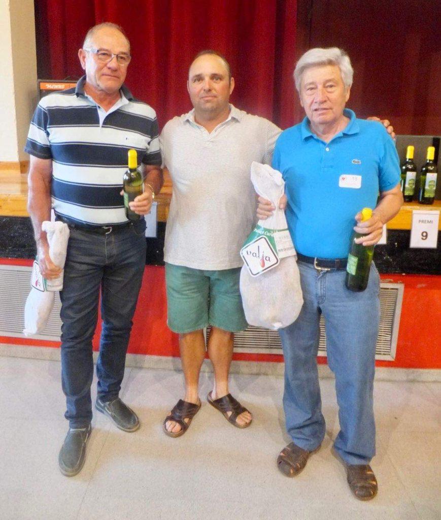 Juncosa acull el campionat solidari del joc de botifarra 2017-3