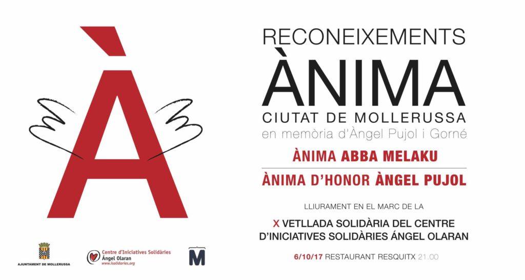 II Reconeixements Ànima i X Vetllada Solidària Ángel Olaran