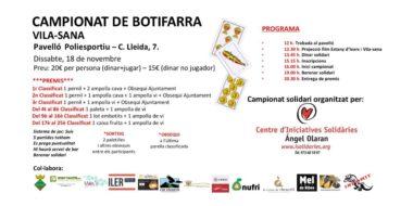 Joc Botifarra Vila-sana