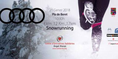 Cursa snowrunning participativa 2018