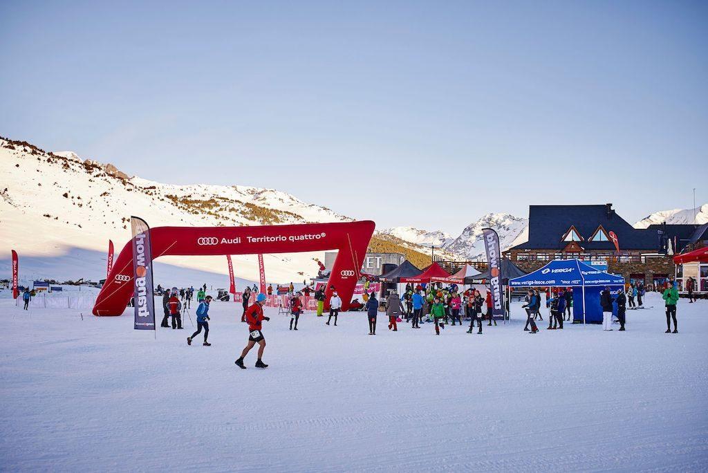 Cursa snowrunning participativa que també ajuda a Wukro