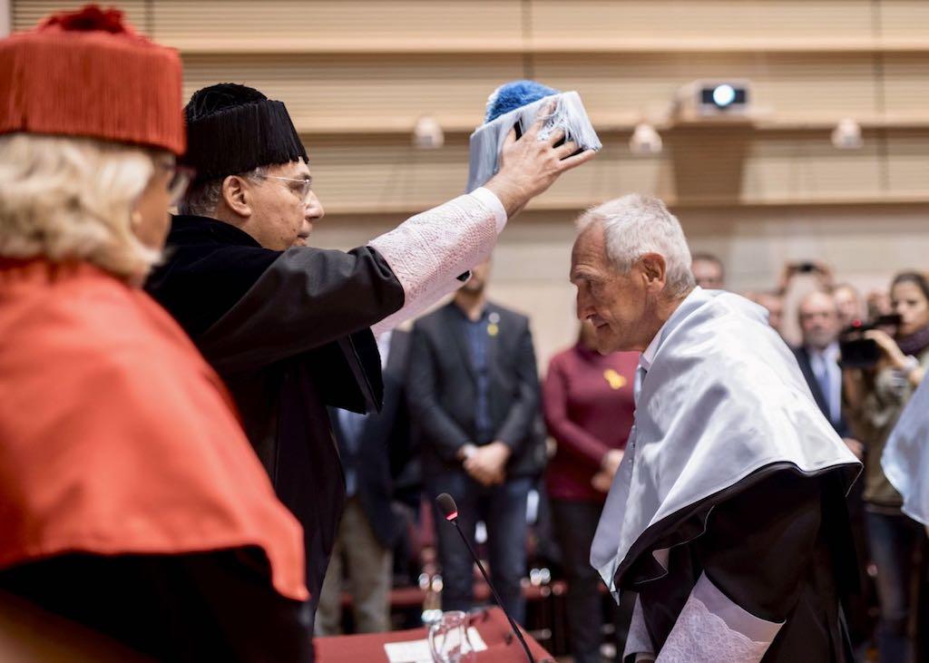 Angel Olaran comparteix la distinció de doctor honoris causa_29