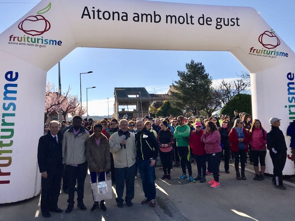 Caminada Popular Aitona 2019 en benefici del CIS Angel Olaran
