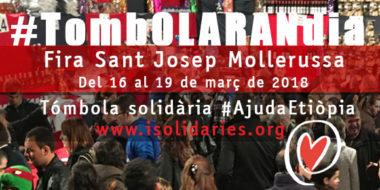 Tombola solidaria Fira Sant Josep Mollerussa 2018