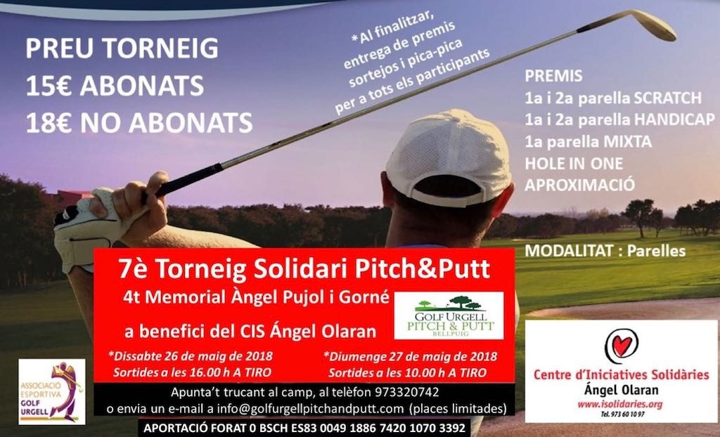 7è Torneig Pitch and Putt solidari Angel Olaran
