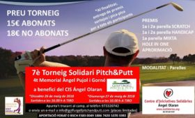 7e Torneig Pitch and Putt solidari