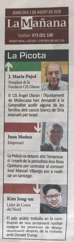 1-08-18 La Mañana-La Picota