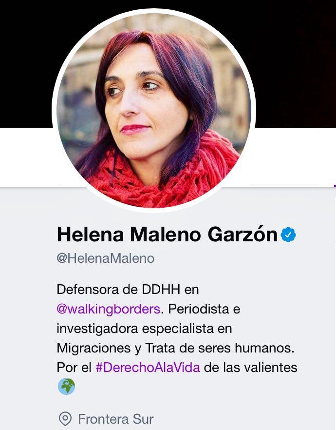 Helena Maleno-Perfil Twitter