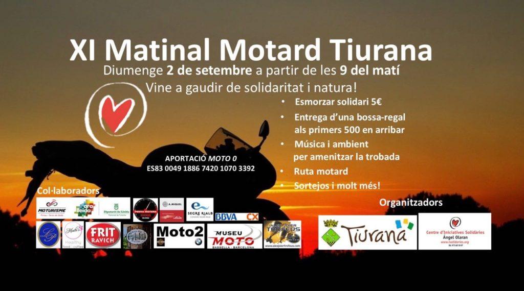 XI Matinal Motard Tiurana amb esmorzar solidari