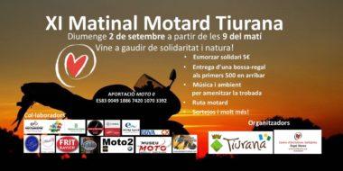 XI Matinal motard Tiurana amb esmorzar solidari 2018