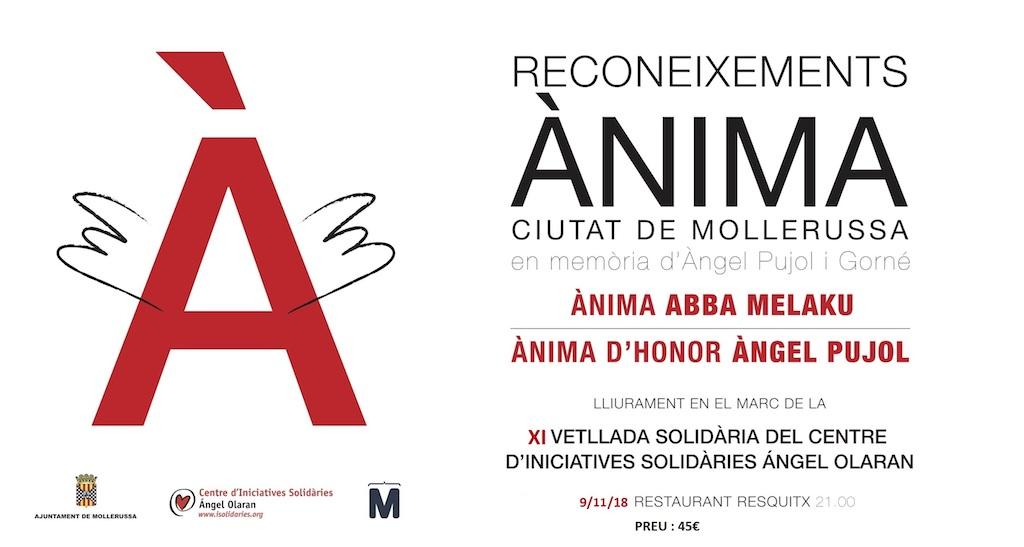 III Reconeixements Ànima y XI Velada Solidaria Ángel Olaran
