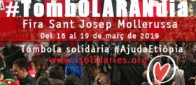 Tómbola solidària a la Fira Sant Josep Mollerussa 2019