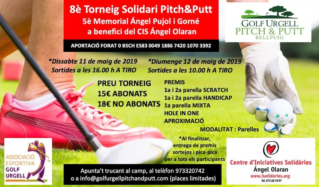 8è Torneig Pitch and Putt solidari Angel Olaran