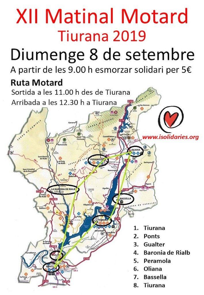 Ruta Motard Tiurana 2019