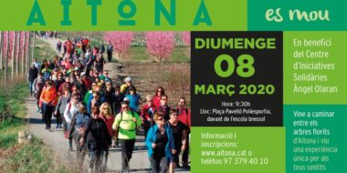 Caminada Popular Aitona 2020 en benefici del CIS Angel Olaran