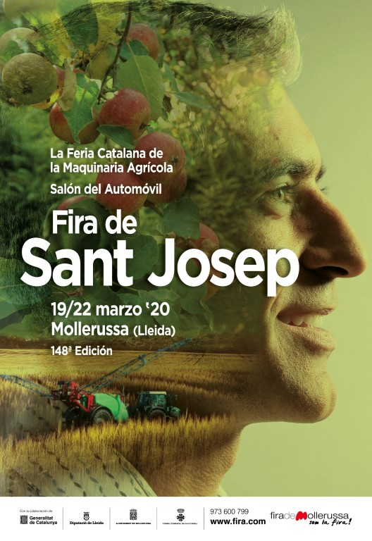 Tómbola Solidària a la Fira Sant Josep Mollerussa - Cartel Fira 2020-CAST