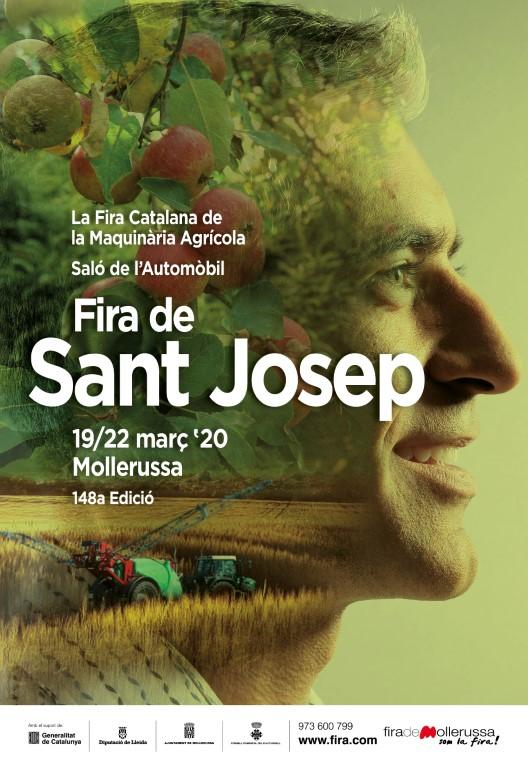 Tómbola Solidària a la Fira Sant Josep Mollerussa - Cartell Fira 2020 - CAT