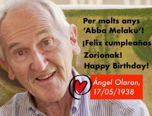 Ángel Olaran celebra avui el seu aniversari