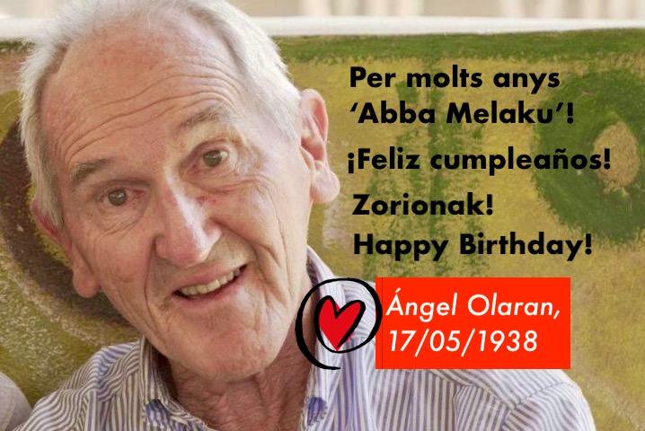 Angel Olaran celebra avui el seu aniversari
