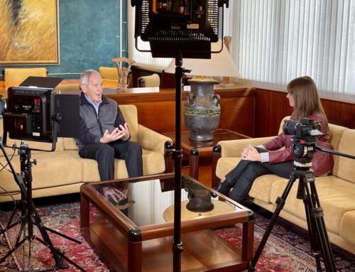Ángel Olaran en el programa Signes dels temps de TV3