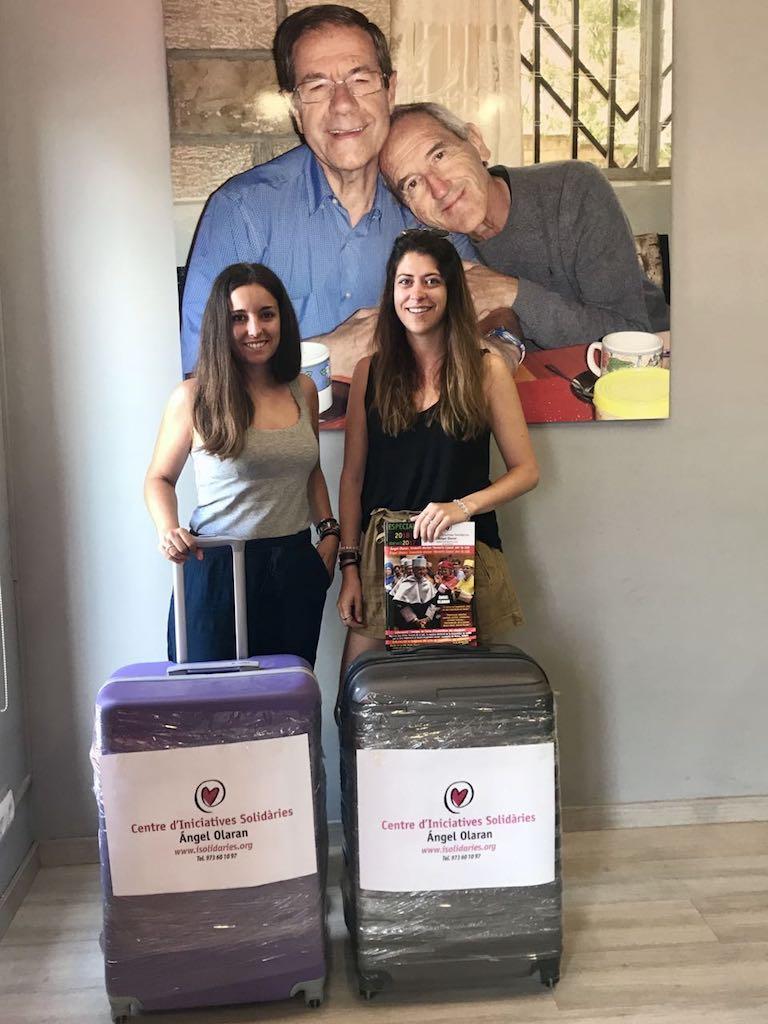 Silvia i Maria voluntariat Wukro 2018